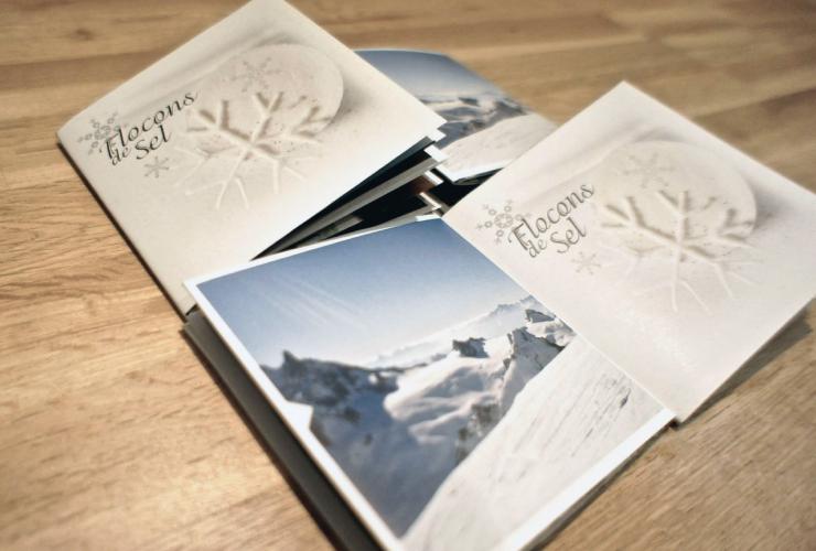 Flocons de Sel - Brochure et cartes de voeux