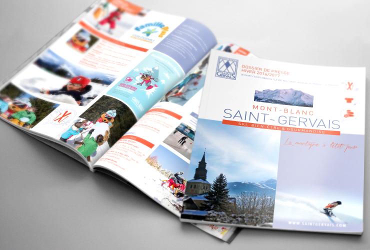 Saint-Gervais Mont-Blanc - brochure