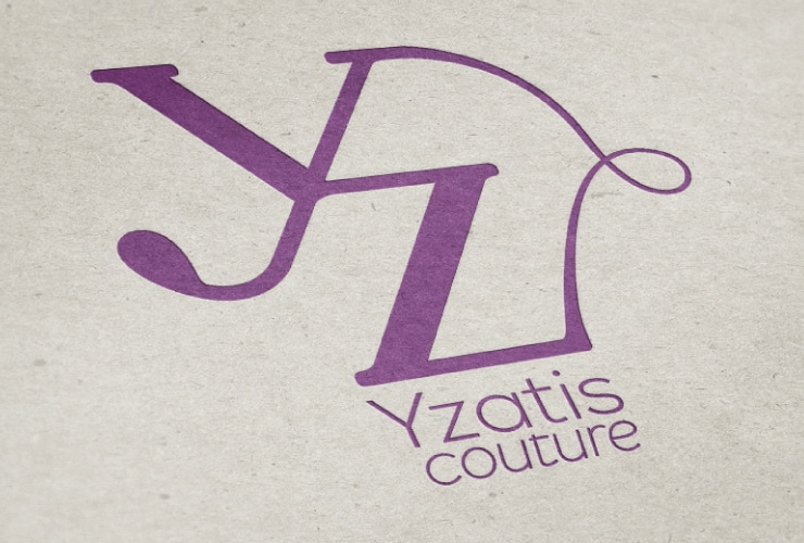 Création logo Yzatis Couture