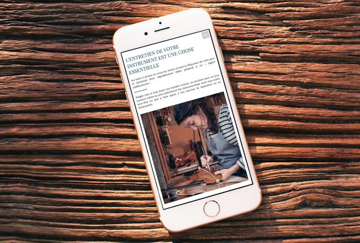 Atelier Martinier site web